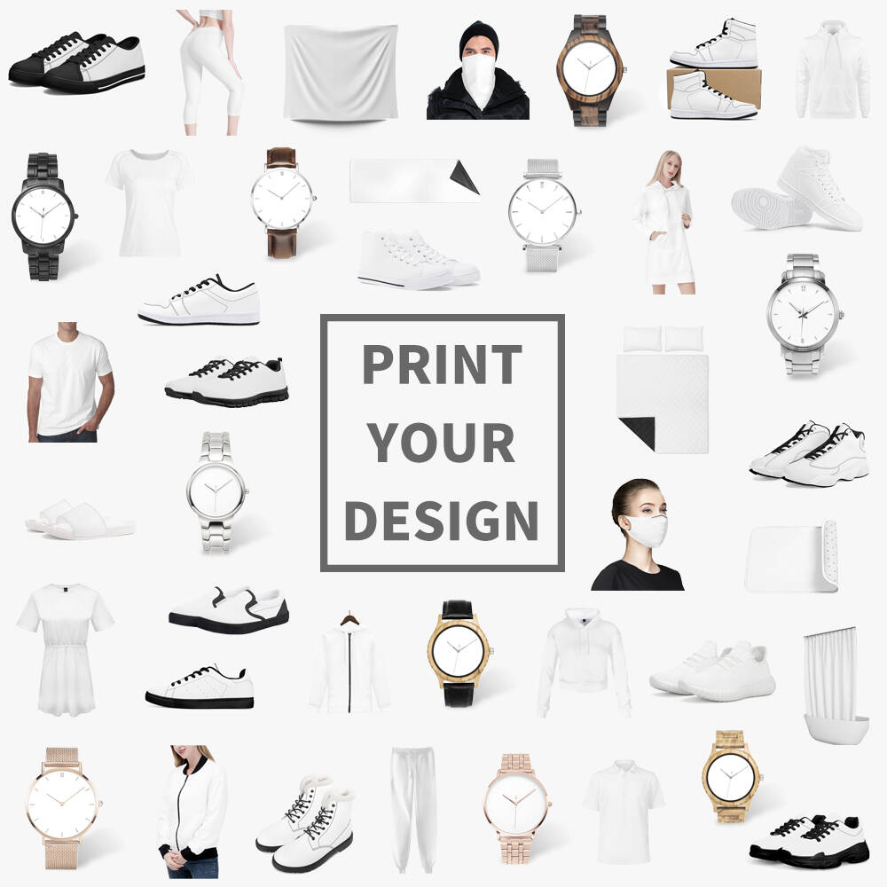 Print On Demand Products Display